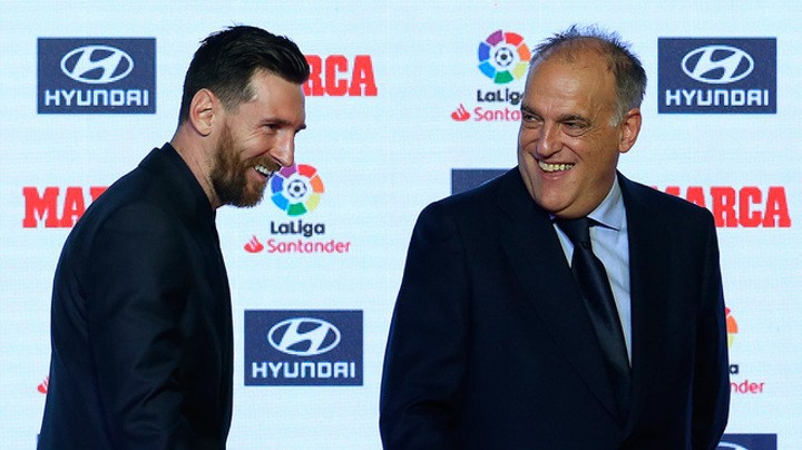 Tebas: I'd rather Messi stay at Barcelona but it's not a question of life and death