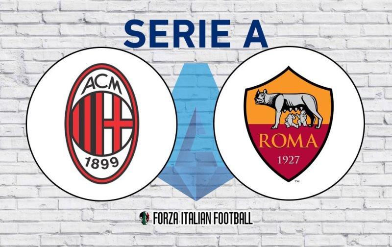 Serie A LIVE: AC Milan v Roma