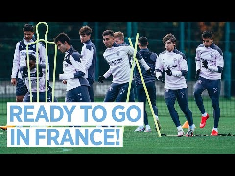 GETTING READY FOR MARSEILLE   TRAINING