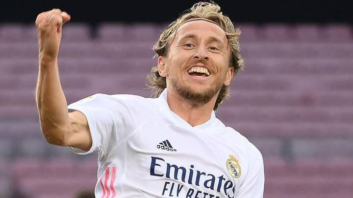Modric keeps showing why he deserves a new deal