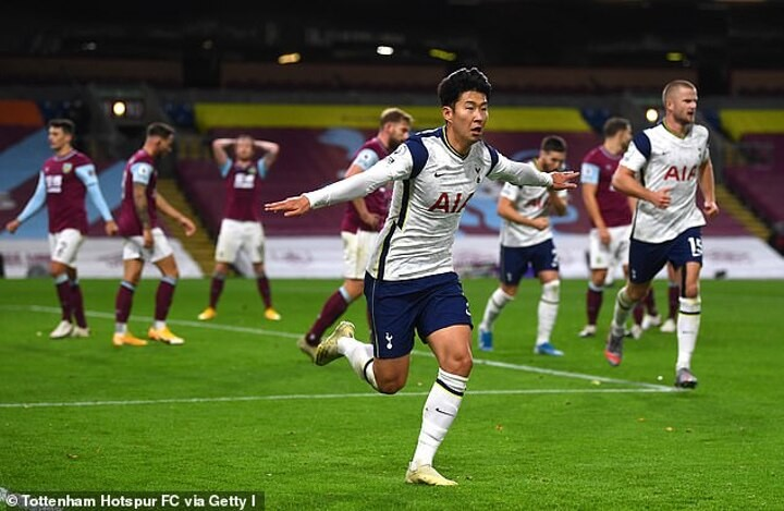 Gary Neville hails Son Heung-min insisting the Tottenham forward 'up there' with Mo Salah