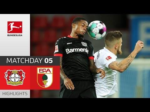Bayer 04 Leverkusen - FC Augsburg | 3-1 | Highlights | Matchday 5 – Bundesliga 2020/21