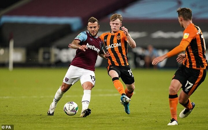 Jack Wilshere 'considering switch to the MLS' after his contract was terminated by West Ham
