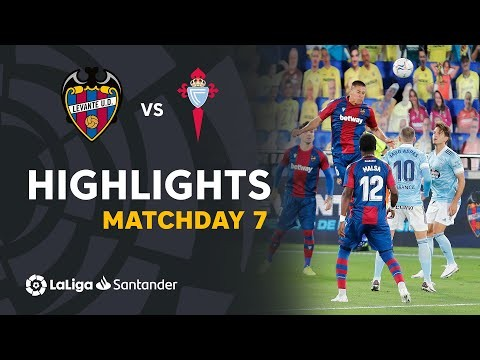 Highlights Levante UD vs RC Celta (1-1)