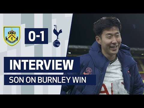 INTERVIEW | HEUNG-MIN SON ON ANOTHER GOAL AND BURNLEY WIN
