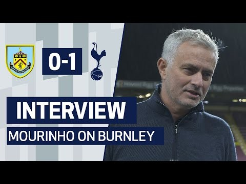 INTERVIEW | JOSE MOURINHO ON 1-0 WIN AGAINST BURNLEY