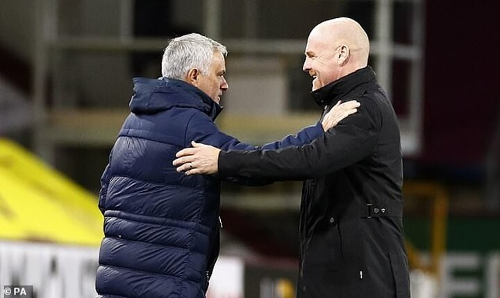 Mourinho heaps praise on Sean Dyche and Pochettino after Tottenham beat Burnley