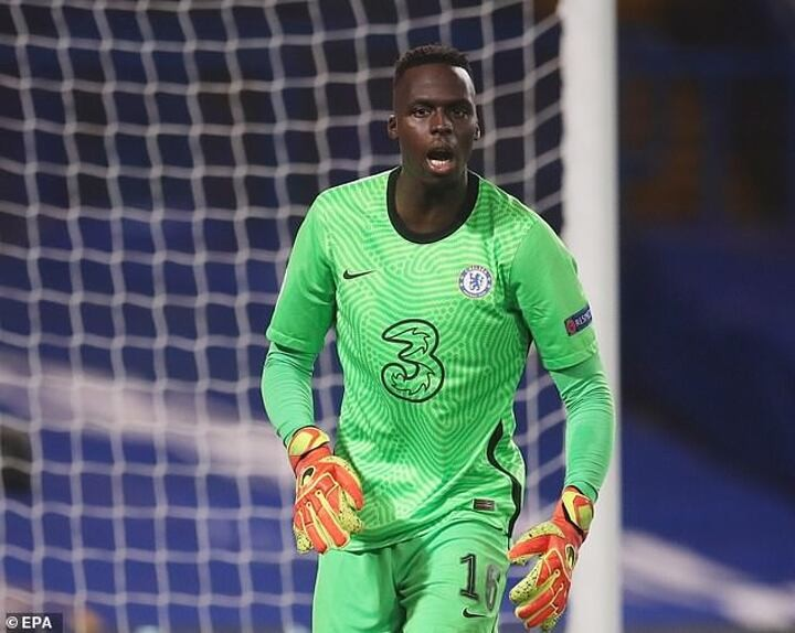 Chelsea new boy Edouard Mendy reveals Kepa wished him luck after debut