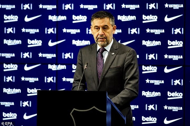 Bartomeu insists the club will 'win a title this season' with Messi