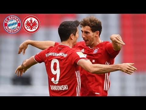 Record man Lewandowski out of this world & Sané like Robben! Highlights FC Bayern vs. Frankfurt