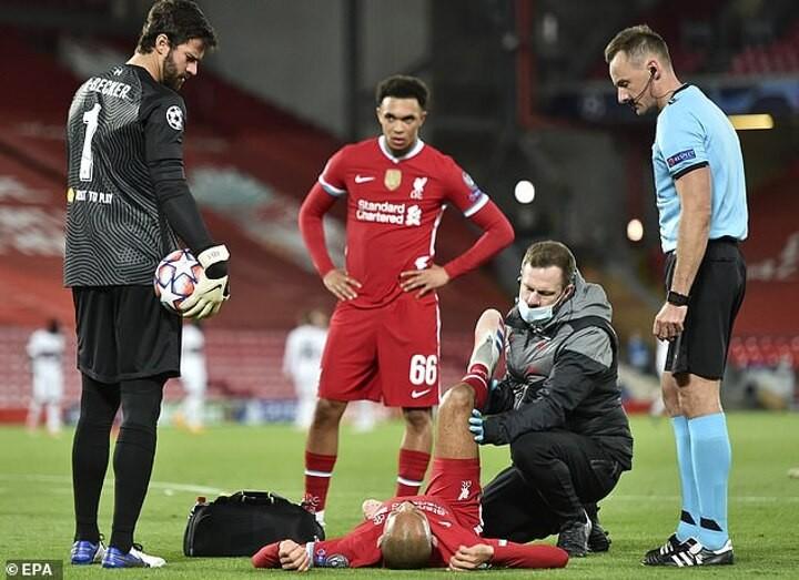 Jurgen Klopp admits Fabinho's hamstring injury does 'not look good'