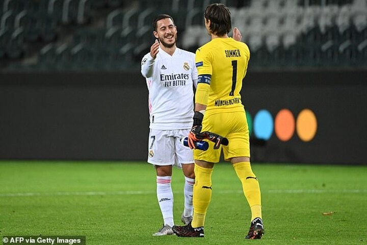 Hazard keen to kick on after returning  to help Real Madrid salvage a point