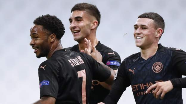 How Man City's front three set tone for dominant display in Marseille