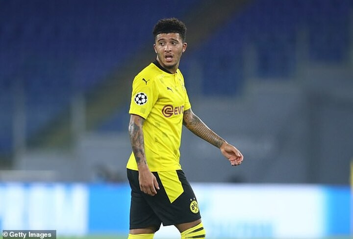 Sancho's poor form could be due to Man Utd interest according to Dortmund boss