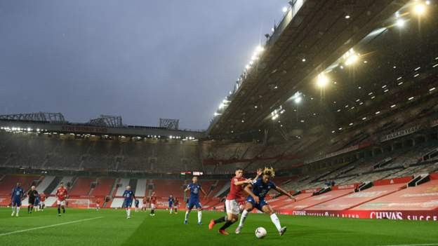 Old Trafford modified to hold 23,500