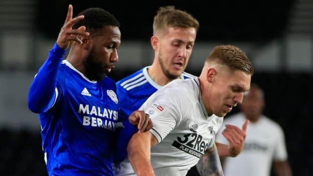 Derby County 1-1 Cardiff City