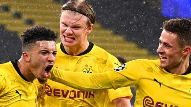 Sancho and Haaland save Dortmund