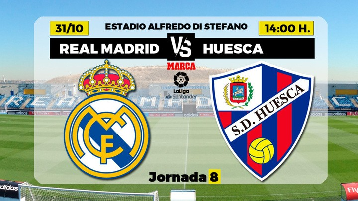 Real Madrid vs Huesca probable line-ups