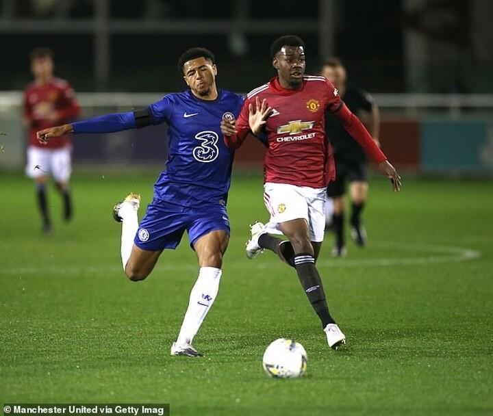 Chelsea U18 1-0 Manchester United U18: Blues reach the FA Youth Cup final through Bryan Fiabema goal