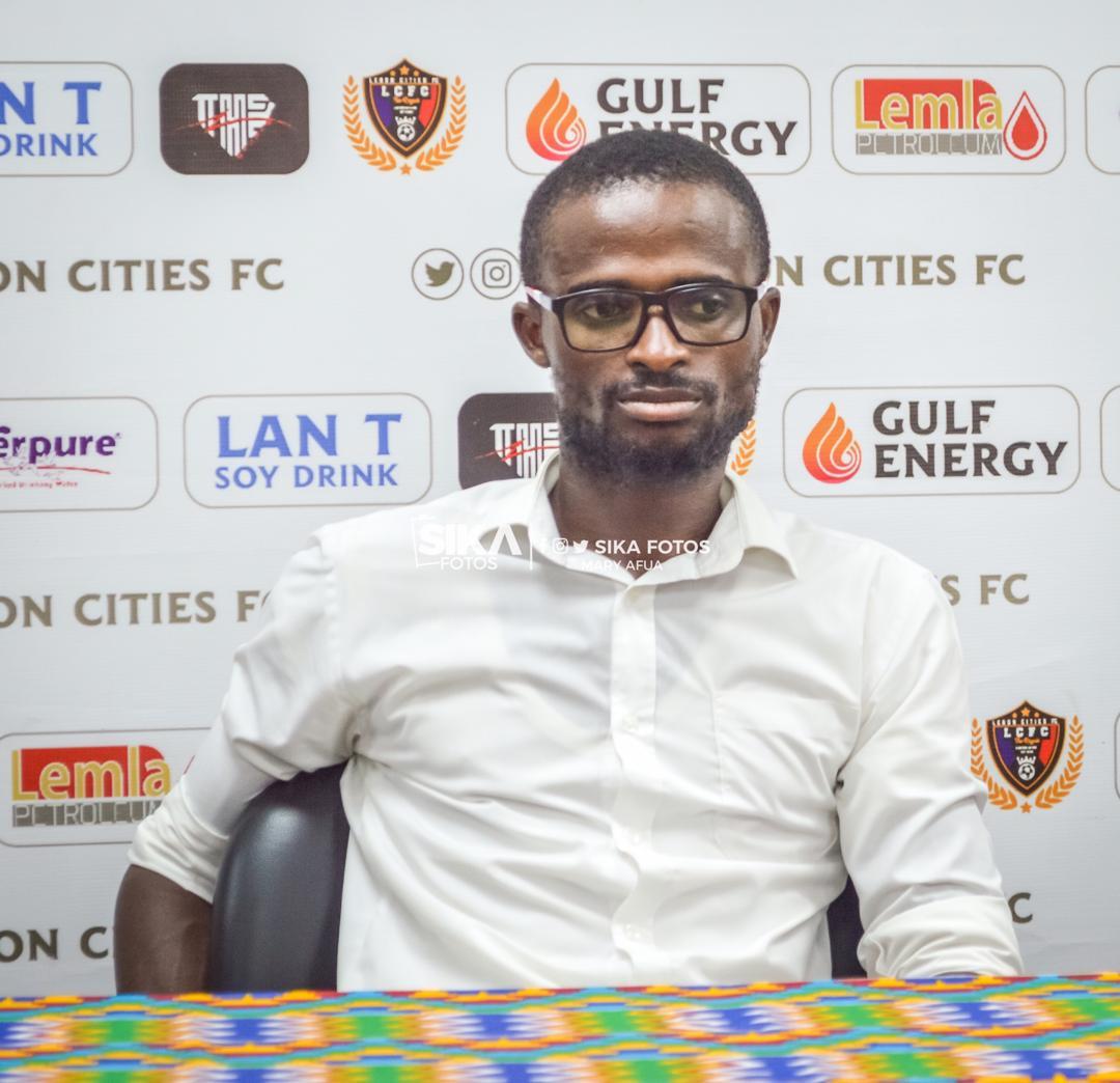 Eleven Wonders trainer Ignatius Osei-Fosu eyes 12 points in last five games of GPL