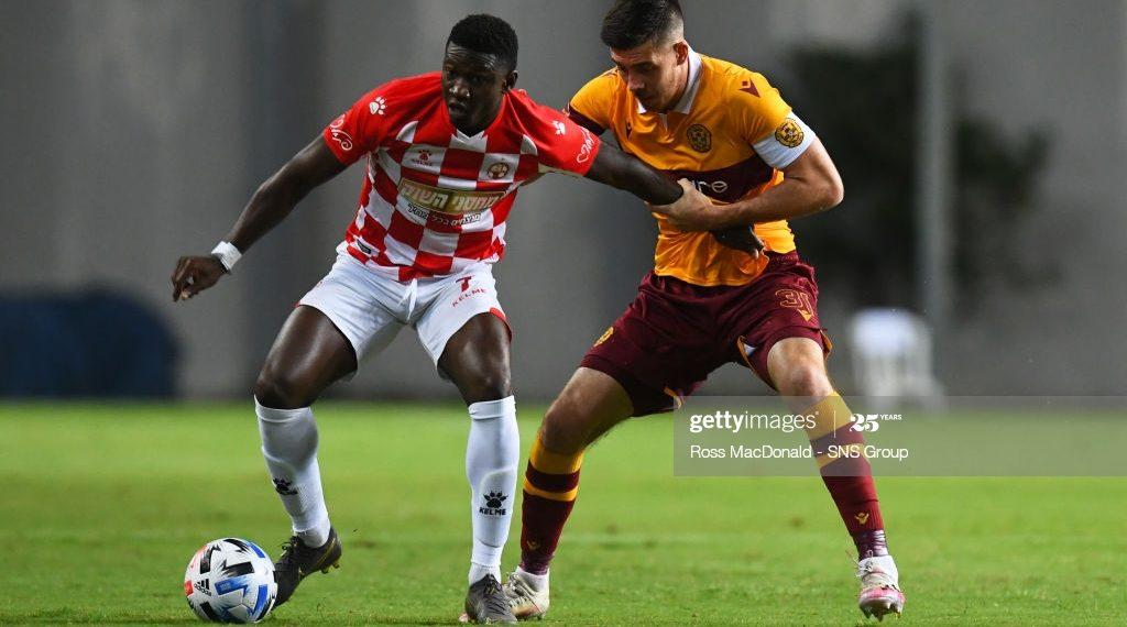 Ghana's Elton Acolatse bags brace to propel Hapoel Beer Sheva to victory against Slavia Prague