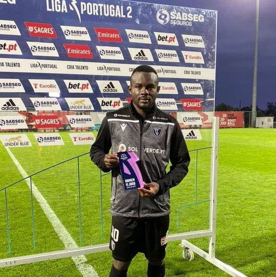Match-winner Paul Ayongo named Man of the Match in Portugal