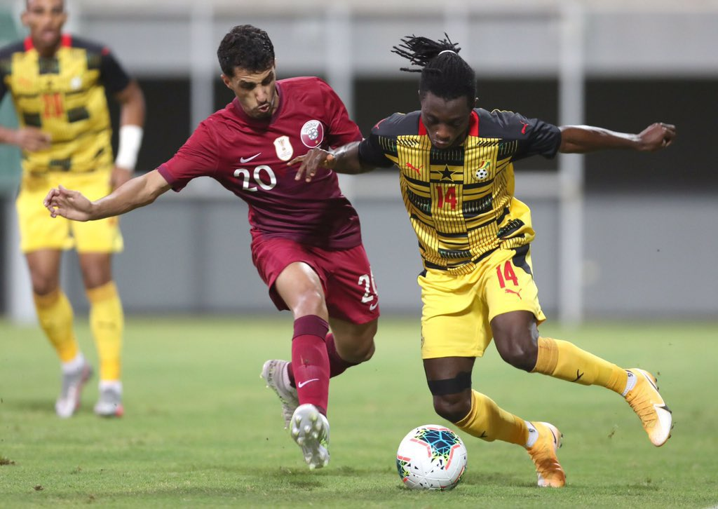 MATCH REPORT: Ghana recover from Mali defeat to thrash Qatar