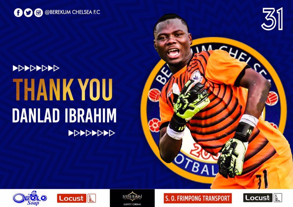 Goalkeeper Danlad Ibrahim returns to Kotoko after Berekum Chelsea loan expiration