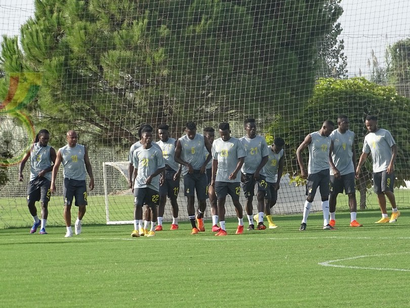 VIDEO: Black Stars hold first training under CK Akonnor ahead of double header friendlies