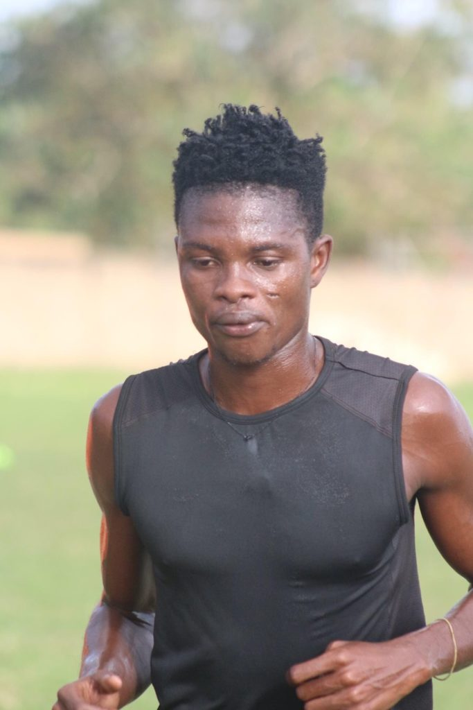 Bechem United defender Seth Sowah returns to training after long injury lay-off