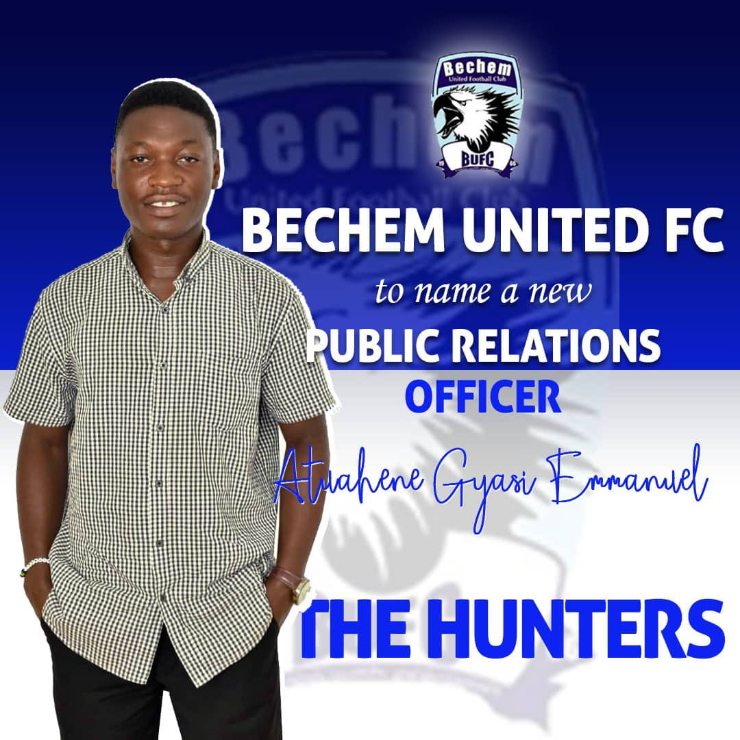 Bechem United appoint Emmanuel Atuahene Gyasi as club's spokesperson