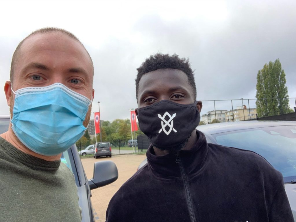 EXCLUSIVE! Nana Opoku Ampomah arrives in Belgium to complete loan move to Royal Antwerp FC