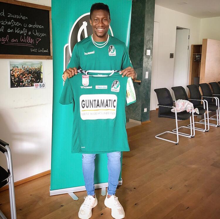 Ghanaian forward Sadam Sulley completes move to Austrian club SV Ried
