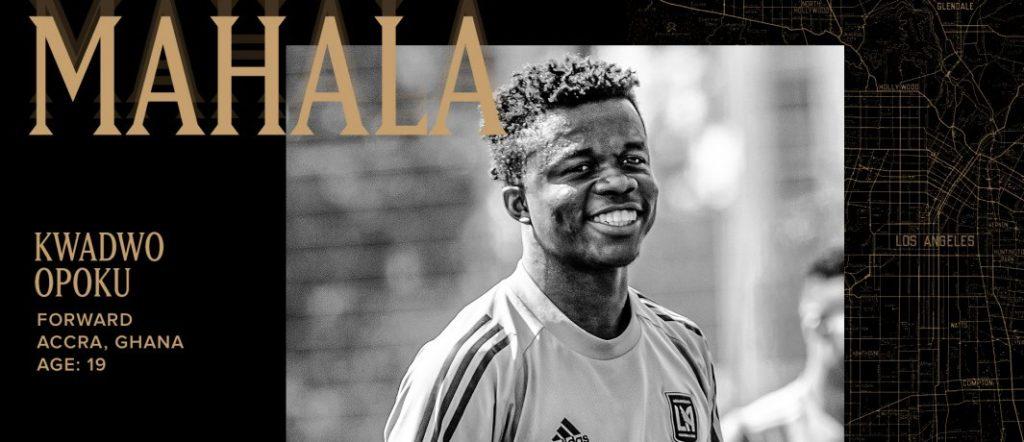 BREAKING: Ghanaian youngster Kwadwo 'Mahala' Opoku joins MLS side LAFC