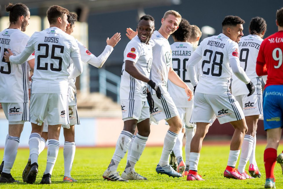Samuel Mensah scores to help Ostersunds FK progress in Swedish Cup