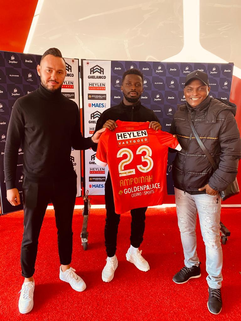 BREAKING NEWS: Ghana winger Nana Ampomah completes Royal Antwerp move