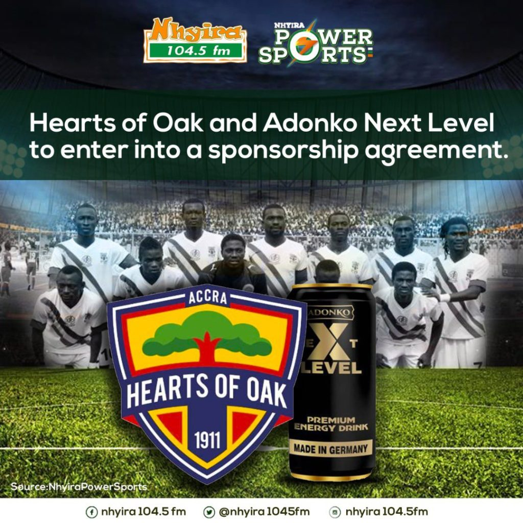 Next - Hearts of Oak To Land Another 'Mega' Sponsorship Deal