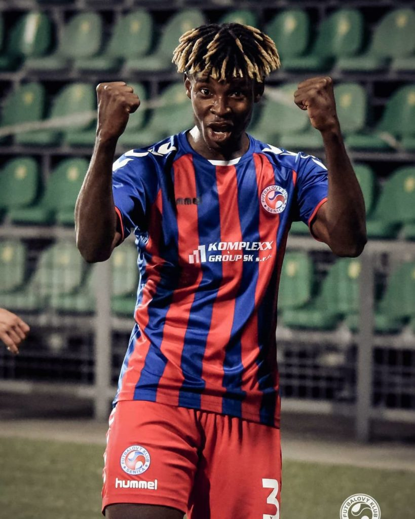 Ghanaian Edmund Addo on target but FK Senica lose in Slovakia