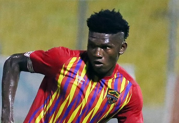 Unnamed French side ready to splash US$ 600k on Hearts of Oak defender Ovouka- report