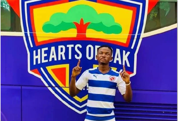 Talented teen Ishmael Razak Ali denies signing for Ghanaian giants Hearts of Oak