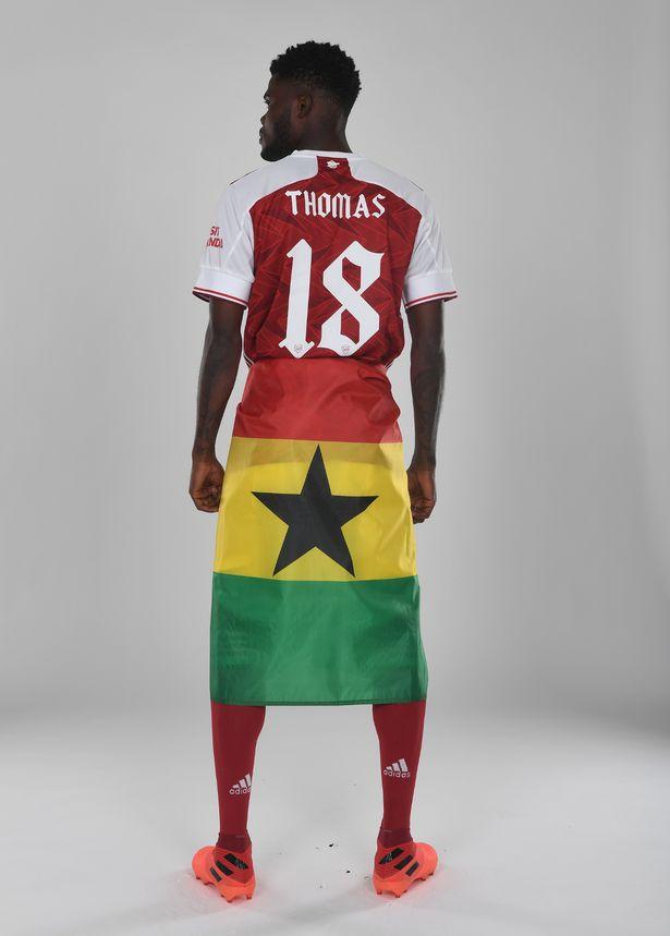 Ghana midfielder Thomas Partey to change shirt number at Arsenal