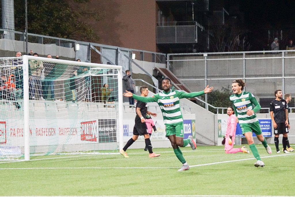 Red-hot Asumah Abubakar plunders brace as SC Kriens thump Grasshoppers in Swiss top-flight