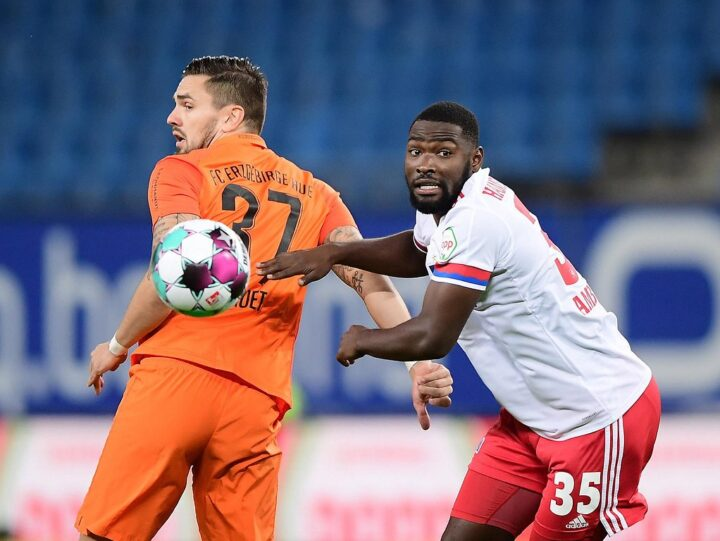 Hamburg defender Stephan Ambrosious recovers from COVID-19 to star in victory over Wurzburger Kickers