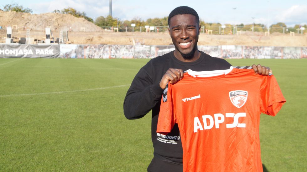 Ghanaian forward Justin Shaibu joins Danish side FC Fredericia
