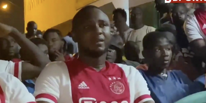 Video: Brother of Kudus almost in tears after Ajax ace injury on Champions League debut