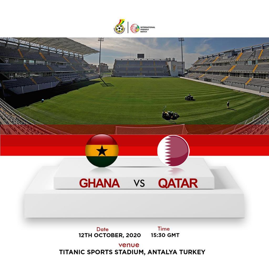 LIVE STREAM: Watch Ghana versus Qatar friendly match