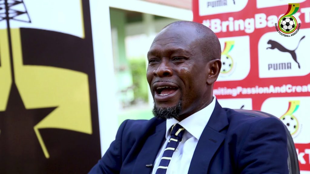 CK Akonnor takes charge of his first Black Stars training tomorrow