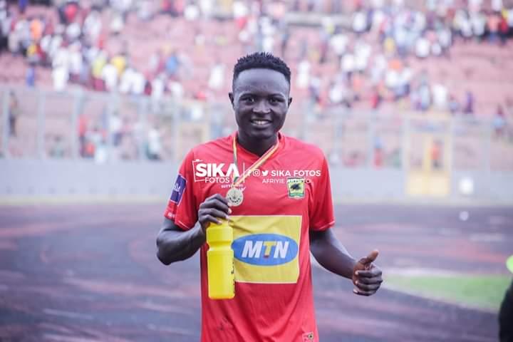 2021 AFCON Qualifiers: Asante Kotoko defender Christopher Nettey starts for Ghana against Sudan