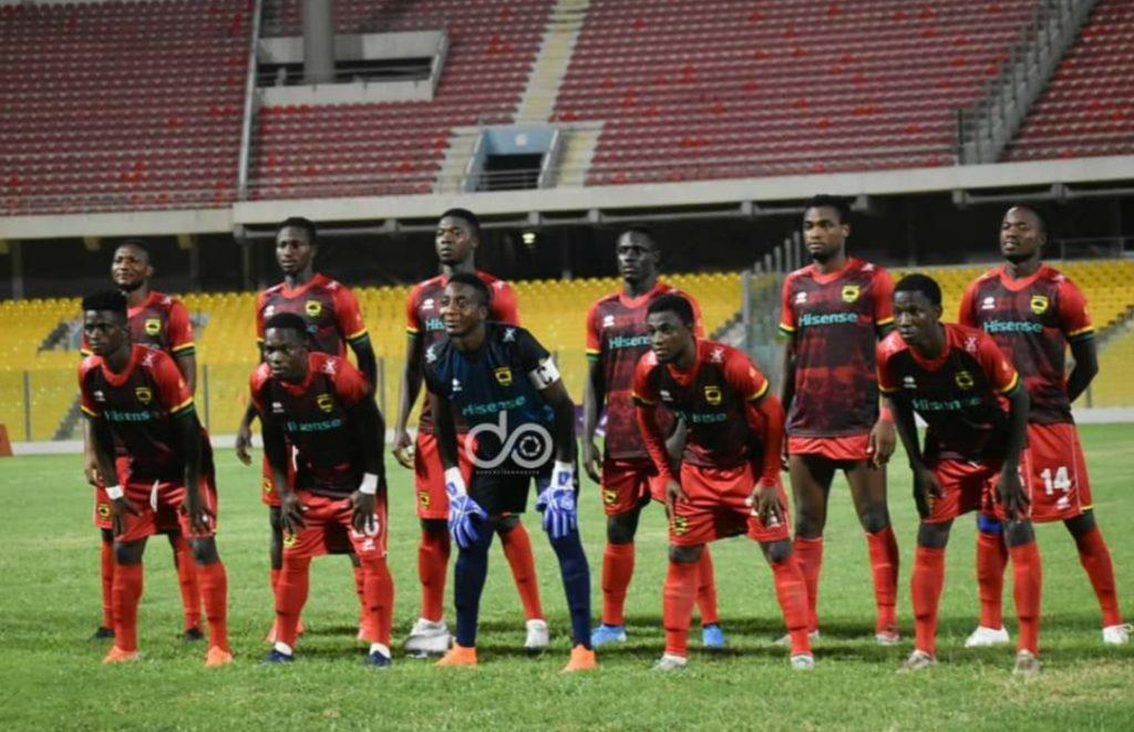 2020/21 CAF Champions League: Asante Kotoko coach Maxwell Konadu names strong starting lineup to face Nouadhibou