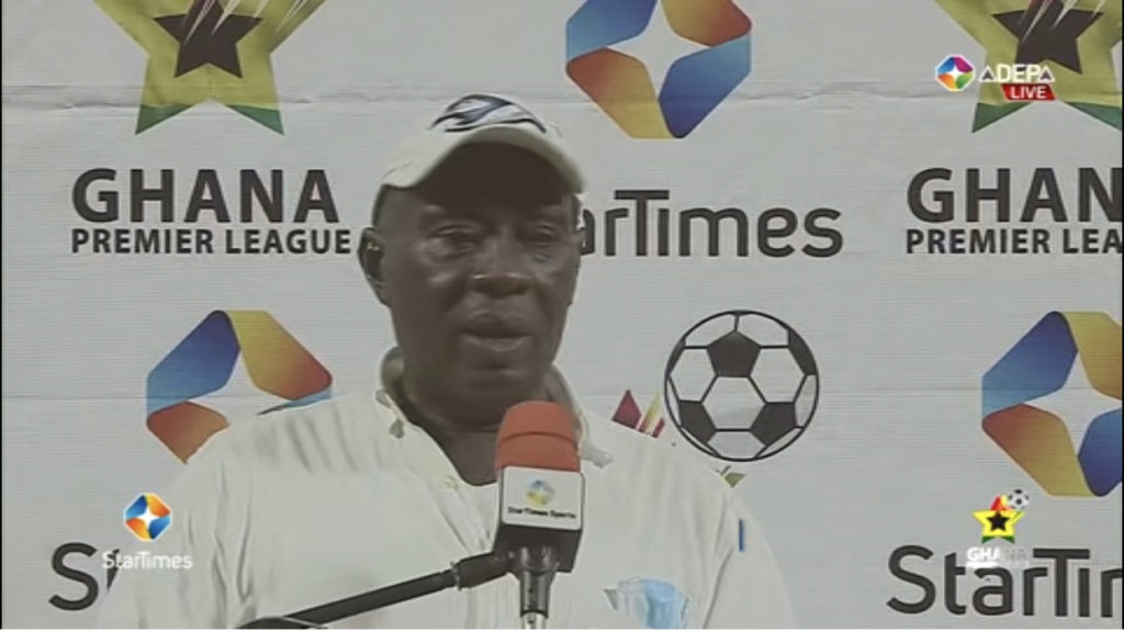 2020/21 Ghana Premier League: Great Olympics coach Annor Walker eulogizes his players after Legon Cities FC mauling
